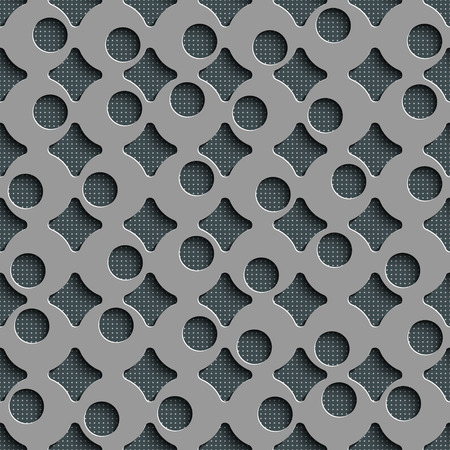 grid background: Seamless Grid Pattern. Abstract Gray Background.