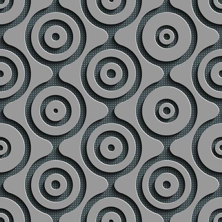 regular: Seamless Damask Pattern.Gray Regular Texture