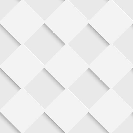 Seamless Square Pattern. Vector Soft Background. Regular White Texture Stock fotó - 54106699
