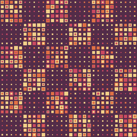 seamless pattern: Seamless Square Pattern. Vector Background Illustration
