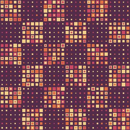 violet: Seamless Square Pattern. Vector Background Illustration