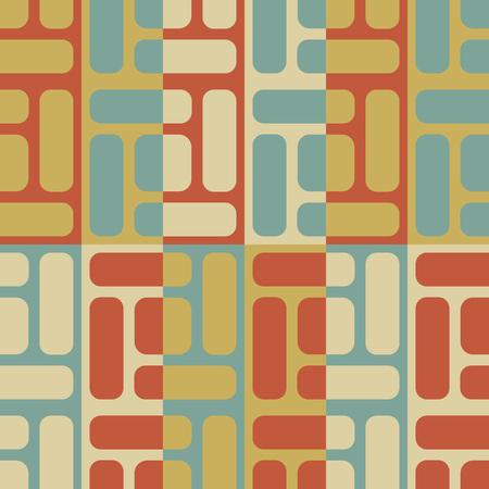 regular: Seamless Grid Pattern. Vector Background. Regular Texture Illustration