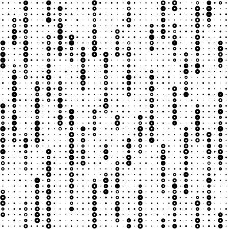Seamless Stripe Pattern. Vector Monochrome Texture Ilustracja