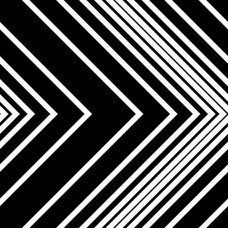 regular: Seamless Arrow Pattern. Abstract Monochrome Background. Vector Regular Texture