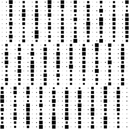 repeat structure: Seamless Square and Stripe Pattern. Abstract Monochrome Background. Vector Regular Texture Illustration