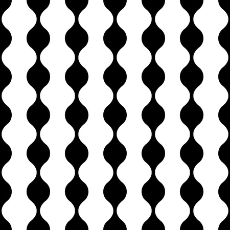 white tile: Seamless Vertical Stripe Pattern. Vector Black and White Background