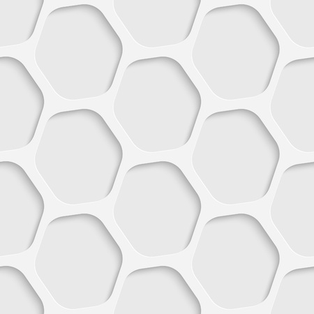 grid pattern: Seamless Grid Pattern. Vector Soft Background. Regular White Texture Illustration