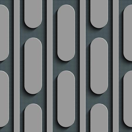 elipse: Seamless Ellipse Pattern. Vector Gray Background