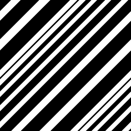 diagonal: Seamless Diagonal Stripe Pattern. Vector Black and White Background