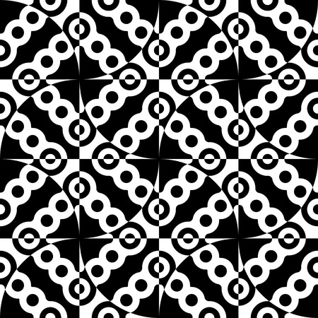 grid background: Seamless Grid Pattern. Vector Black and White Background. Regular Texture Illustration