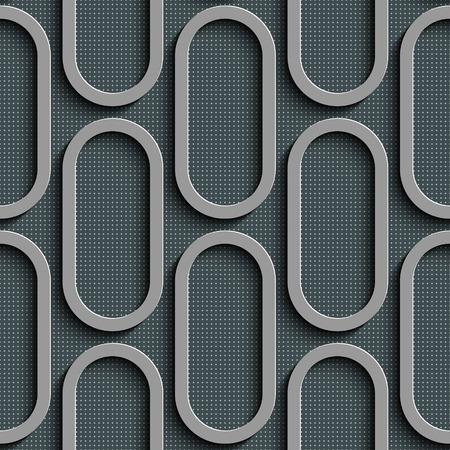 elipse: Patrón sin fisuras Elipse. Vector de fondo gris