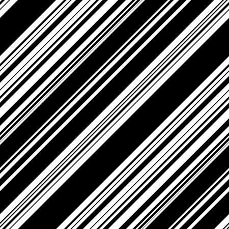 grid pattern: Seamless Diagonal Stripe Pattern. Vector Black and White Background