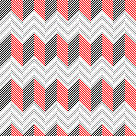 regular: Seamless ZigZag Pattern. Vector Regular Texture