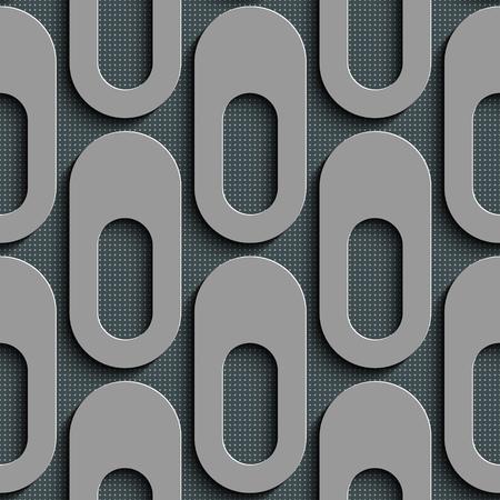 elipse: Patr�n sin fisuras Elipse. Vector de fondo gris