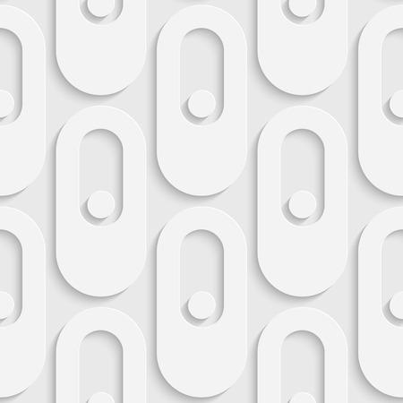 ellipse: Seamless Ellipse Pattern. Vector Soft Background. Regular White Texture Illustration