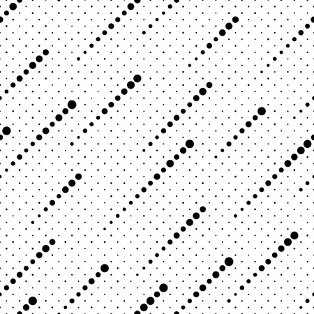 Seamless Stripe Pattern. Vector Monochrome Texture Illustration