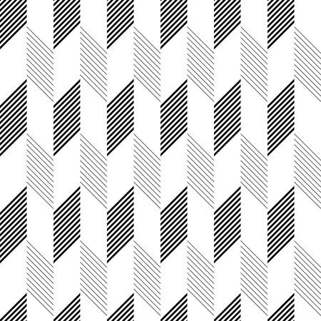 Motif de ZigZag transparente. Résumé fond monochrome. Vector texture régulière