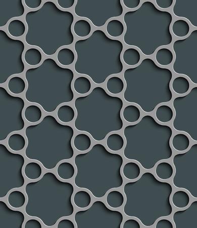 regular: Seamless Grid Pattern. Abstract Gray Background. Vector Regular Texture