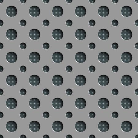regular: Seamless Geometric Pattern. Abstract Gray Background. Vector Regular Texture