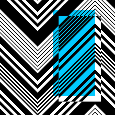 vintage patterns: Vector ZigZag Pattern. Abstract Card Background