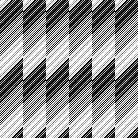 stripe pattern: Seamless Diagonal Stripe Pattern. Vector Black and White Background
