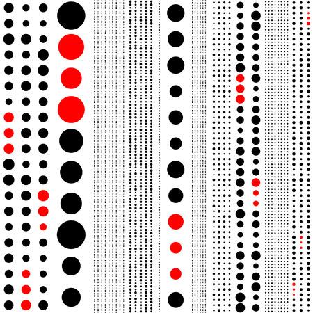 regular: Seamless Circle Pattern. Vector Regular Texture Illustration