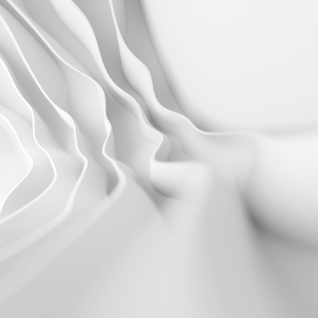 design background: 3d White Abstract Background. Modern Minimal Design Stock Photo