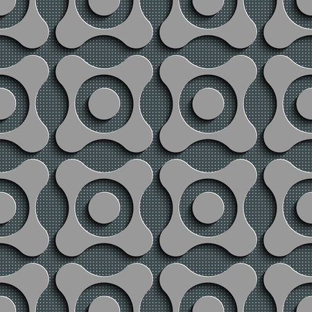 gray texture background: Seamless Geometric Pattern. Abstract Gray Background. Vector Regular Texture