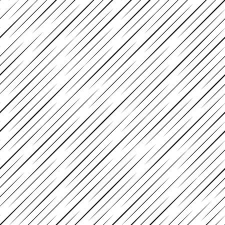 kropla deszczu: Bezszwowe tło deszczowe. Wektor Czarno-biały Wzór Ilustracja