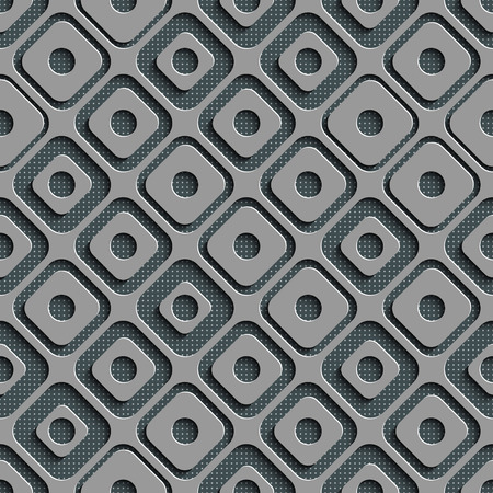 gray texture background: Seamless Square Pattern. Vector Background. Gray Regular Texture