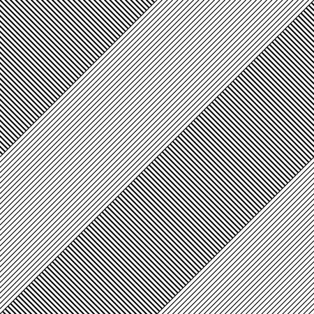 Bezszwowe paski i wzór linii. Tekstura wektor czarno-białe