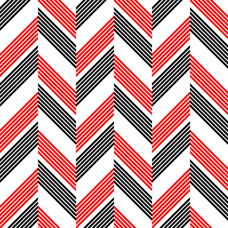 black backgrounds: Seamless ZigZag Pattern. Abstract  Black and Red Background. Vector Regular Texture