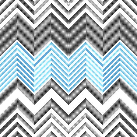 Seamless ZigZag Pattern. Abstract Background. Vector Regular Texture Illustration