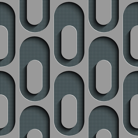 ellipse: Seamless Ellipse Pattern. Vector Gray Background