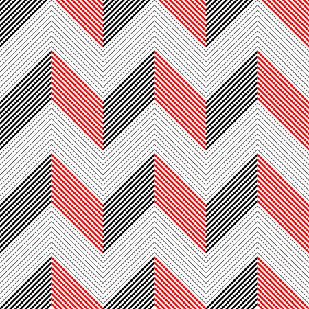 regular: Seamless ZigZag Pattern. Abstract Background. Vector Regular Texture Illustration