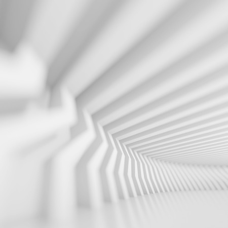 architecture abstract: 3d White Building Construction. Abstract Architecture Background