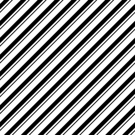 rayas de colores: Patrón de la raya diagonal sin fisuras. Vector y Negro Fondo blanco