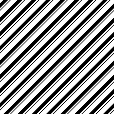 stripe: Seamless Diagonal Stripe Pattern. Vector Black and White Background