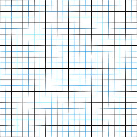 grid pattern: Seamless Grid Pattern. Vector Black and Blue Background. Regular Texture Illustration