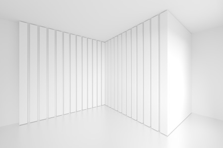gallery interior: White Architecture Background. Abstract Gallery Interior