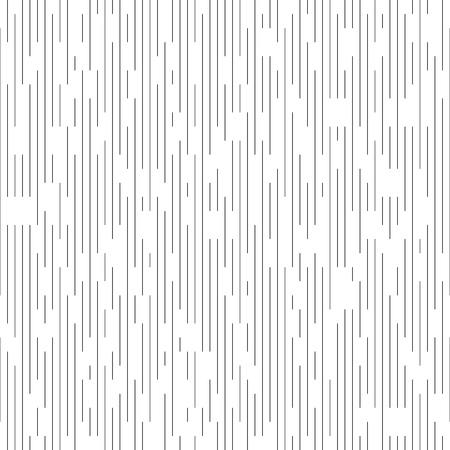 Bezszwowe pionowa linia wzór. Chaotyczne tło wektor czarno-białe. Minimalna geometryczna tekstura