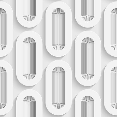 elipse: Patrón sin fisuras de la elipse. El fondo suave. Textura blanca regular