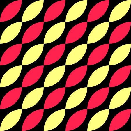 elipse: Patrón sin fisuras de la elipse. Vector textura regular Vectores