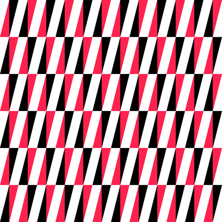 red line: Seamless Vertical Stripe Pattern. Vector Black and Red Background Illustration
