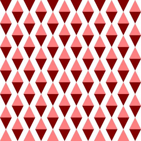 Seamless Rhombus Pattern. Vector Background
