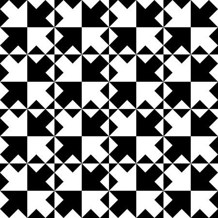 trend: Seamless Arrow Pattern. Abstract Monochrome Background. Vector Regular Texture