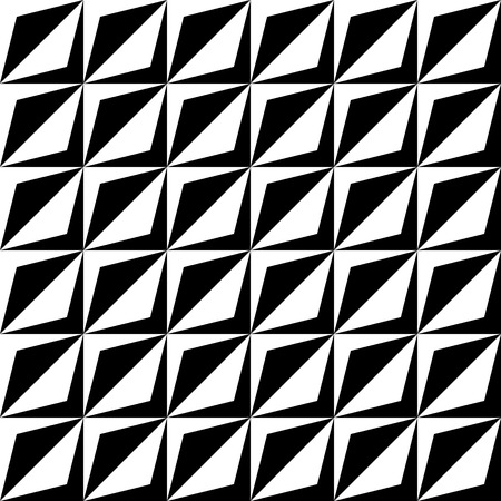 geometric lines: Seamless Geometric Pattern. Vector Black and White Texture