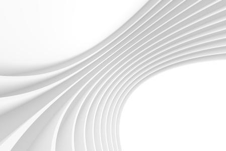 modern interior design: White Architecture Circular Background. Abstract Interior Design. 3d Modern Architecture Render. Futuristic Building Construction