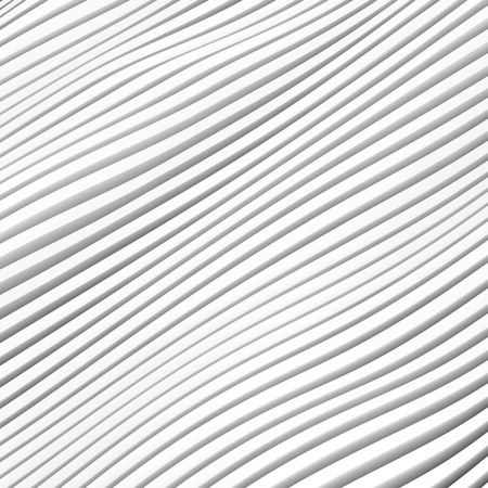 minimal: 3d Rendering of White Stripe  Background. Modern Minimal Architecture Design Stock Photo