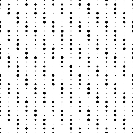 stripe pattern: Seamless Stripe Pattern. Vector Monochrome Texture. Abstract Chaotic Dots Background Illustration